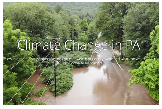 Climate Change in PA